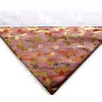 打ち敷き 打敷 内敷 内敷き 新錦 100代 42cm幅 桜流水 ピンク