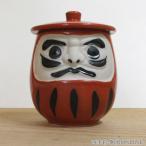 湯飲み 蓋付寿司湯のみ 赤ダルマ 和食器 美濃焼 3b357-23