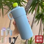 STOS(ストス) ペットボトルクーラーケース 500ml対応 サックスブルー ライトカーキ ベージュ チャコールグレー シルバー