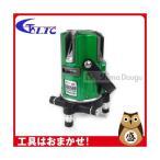 テクノ販売 グリーンレーザー墨出し器 LTC-SSG500(縦3方向矩・横120°水平ライン・地墨・鉛直十字) 4ライン