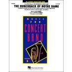 輸入The Hunchback of Notre Dame (Medley)/ノートルダムの鐘(メドレー) / ウィンズ・スコア
