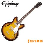 Epiphone エピフォン Elitist 1965 Casino Vintage Sunburst カジノ フルアコ エレキギター