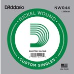 D'Addario ダダリオ NW044 アコギ/エレキギター兼用弦 XL Nickel Round Wound 044 〔バラ弦1本〕