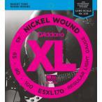 D'Addario ダダリオ ESXL170 ベース弦 XL Nickel Round Wound Long Scale ライトゲージ/Double Ball 045-100