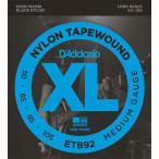D'Addario ダダリオ ETB92 ベース弦 Black Nylon Tapewound ミディアムゲージ 050-105