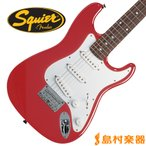 Squier by Fender Mini Rosewood Fingerboard TRD(トリノレッド) ミニサイズ エレキギター 〔スクワイヤー by フェンダー〕
