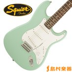 Squier by Fender スクワイヤー ストラトキャスター Affinity Series Stratocaster Rosewood Fingerboard SFG(サーフグリーン)