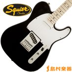 Squier by Fender スクワイヤー テレキャスター Affinity Series Telecaster Maple Fingerboard BLK(ブラック)