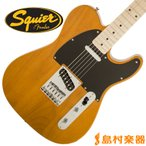 Squier by Fender スクワイヤー by フェンダー テレキャスター Affinity Series Telecaster Maple Fingerboard BTB(バタースコッチブロンド)