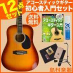 アコースティックギター 初心者 セット Vanguard バンガード VDG-01 TS(タバコサンバースト)ベーシックセット