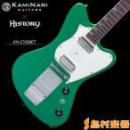 KAMINARI GUITARS × HISTORY KH-CYGNET AGM(アップルグリーンメタリック) エレキギター