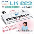 CASIO カシオ LK-223 光ナビゲーションキーボード 〔61鍵〕 〔LK223 光る キーボード〕