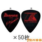 Ibanez アイバニーズ 1000KL ブラック 50枚セット ピック Kiko Loureiro(キコ・ルーレイロ)モデル
