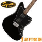 Squier by Fender スクワイヤー Affinity Series jazzmaster HH BLK ブラック ジャズマスター