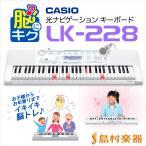 CASIO カシオ LK-228 光ナビゲーションキーボード 〔61鍵〕 〔LK228 光る キーボード〕