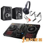 Pioneer �ѥ����˥� DDJ-400 �ǥ�����DJ��ԥե륻�å�(�֥�å�) [����+rekordbox DJ+�إåɥۥ�+���ԡ�����+PC�������]
