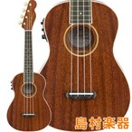 Fender �ե������ Grace VanderWaal Signature Uke Walnut Natural ���󥵡��ȥ������