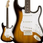 Squier by Fender スクワイヤー / スクワイア Bullet Strat with Tremolo, Laurel Fingerboard, Brown Sunburst エレキギター ストラトキャスター