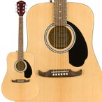 Fender フェンダー FA-125 Dreadnought w/bag Walnut Natural アコースティックギター