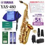 【未展示新品】YAMAHA ヤマハ YAS-480 アルトサックス 初心者セット お手入れセット付属 YAS480〔メーカー保証1年〕〔送料無料〕
