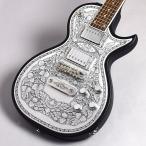 ZEMAITIS ゼマティス C24MF Black(ブラック) エレキギター 〔METAL FRONT/CASIMERE(メタルフロント/カシミア)〕 〔福岡イムズ店〕 〔現物画像〕