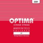 OPTIMA オプティマ A1 No.2301 RED マンドセロ用弦/A 1弦×2本入り