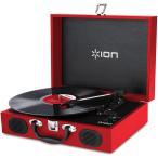 ION AUDIO アイオンオーディオ VINYL TRANSPORT RED 赤 レコードプレーヤー