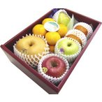 お歳暮ギフト ご贈答 御祝 御礼 お供え 送料無料 季節のフルーツ詰め合わせC
