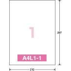 コクヨ  インクジェットプリンタ用ラベル リラベル A4 100枚入 ノ−カット KJ-E80908N  ●お得な10パックセット