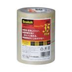 ジャパン スコッチ(R)透明粘着テープ 24mmX35m 500-3-2435-5P 1パック(5巻)
