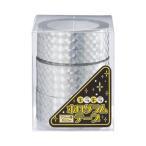 エヒメ紙工 ホログラムテープ 銀 幅20mm×約20m HOT-S