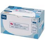 カウネット 収納しやすいひも付きゴミ袋 ロールタイプ 箱 90L 30枚 4414−0212 代引き不可 ●お得な10個パック