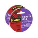 スリーエム ジャパン 透明梱包用 手でまっすぐ切れるテープ3842K