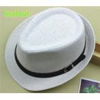 Yahoo! Yahoo!ショッピング(ヤフー ショッピング)メンズ帽子 UVカット 紫外線対策 シンプル つば広 麦わら ハット 上質 日よけ ファッション アウトドア 着心地いい セール 夏 メンズ帽子