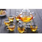 茶器セット 9点セット ガラス ティーポット ポット おしゃれ 和食器 急須 きゅうす 湯のみ プレゼント 贈り物 お祝い 茶碗 茶器セット