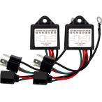 ショッピング商品 極性変換リレー×2個セット H4ハイロー切替のマイナスコントロールをプラスコントロールへ変換します