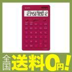 シャープ 電卓 12桁(ナイスサイズタイプ) レッド系 EL-N802-RX