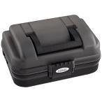 ショッピング商品 OGK(オージーケー) 小型タックルボックス OG647SK 1段式 スモーク/ブラック