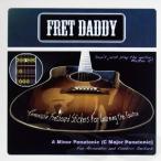 ショッピングDaddy Fret Daddy スケール教則シール エレキ/アコースティックギター用 マイナーペンタトニックスケール (Aスケール)