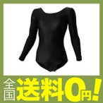wundou(ウンドウ) P-520女子体操レオタード長袖 P-520-34 ブラック 110