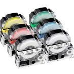 12mm 互換 テプラ テープ キングジム pro テープカートリッジ Kingjim Tepra 本体 SS12K ST12K SC12R SC12Y SC12G SC12B KINGJIM 強