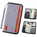 パスポートケース MOMO パスポートバッグ 男女兼用 通帳ケース 海外旅行グッズ ビジネスケース 航空券対応 軽