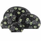 F.ZH コスメポーチ 化粧ポーチ トラベルポーチ バニティポーチ メイクバッグ 化粧品バッグ 可愛い 花柄 洗面用