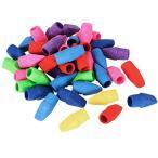 ANPHSIN キャップ 消しゴム - 40枚セット ミニ 消しゴム 可愛い カラフル パズル消しゴム 鉛筆消しゴム 色鉛筆用