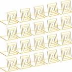 メモホルダー メモクリップ カードスタンド クリップホルダー 金属製 メモ/写真/名刺/カードを固定できる 結