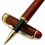 ボールペン 高級 おしゃれ 木製 プレゼント 父の日/就職祝い/卒業祝い/母の日/記念品など 筆記用具文房具 贈