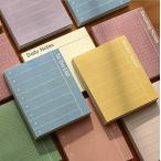 ANPHSIN スケジュールメモ帳 -8点セット 8種類 のりなし TODOリスト メッセージ カラー カラフル 可愛い プラン 毎