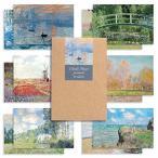 モノライク クロードモネ葉書 はがき ポストカード Claude Monet set - 12セット感性的なデザインはがきデイリーは