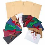レターセット 封筒 14枚 便箋 24枚 シンプル アンティーク メッセージカード 封筒付 グリーティングカード バ