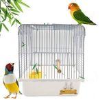 Gifty 文鳥 かご 止まり木 餌入れ 鳥 キャリー ケージ セキセイインコ バードパレス 手のり 移動用 通院 お出か